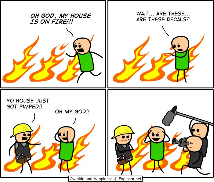 21 Most Funny Fire Pictures