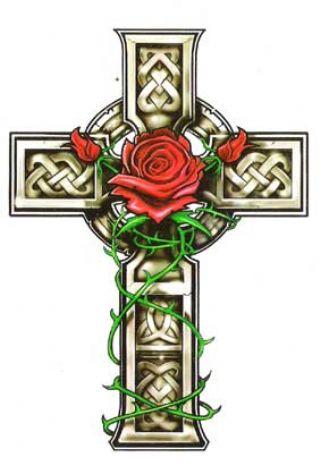 46 celtic cross tattoos designs