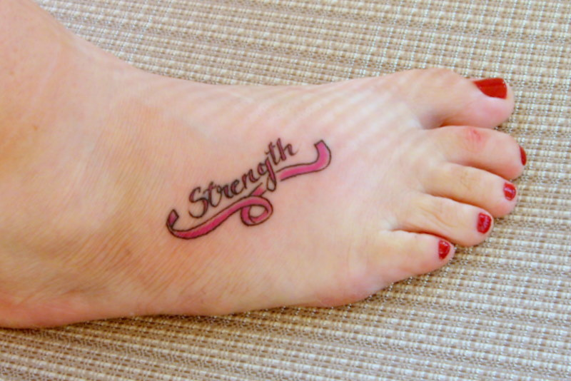 33 Cute Breast Cancer Tattoo Designs Images And Pictures Ideas