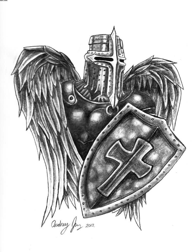 Archangel Warrior Tattoo Designs | www.pixshark.com ...
