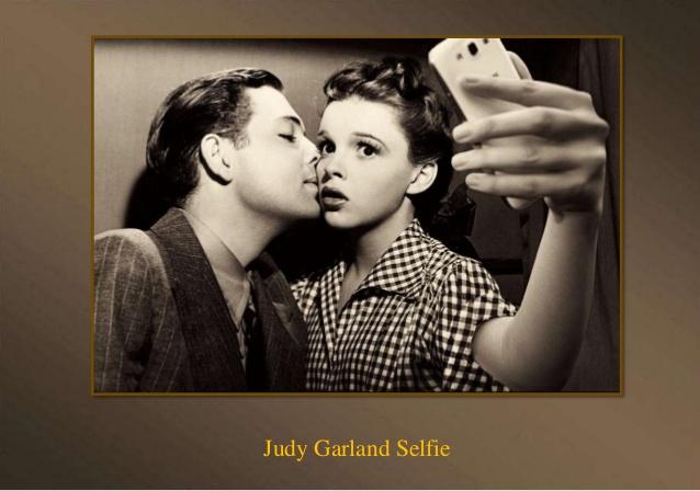 Marilyn Monroe Taking Selfie Funny Vintage Poster