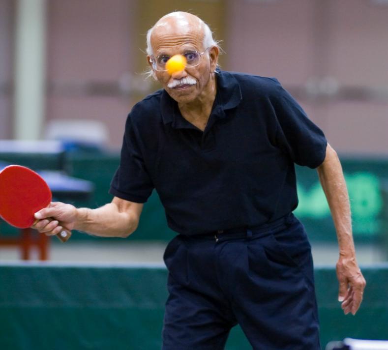 Смешные картинки о настольном теннисе