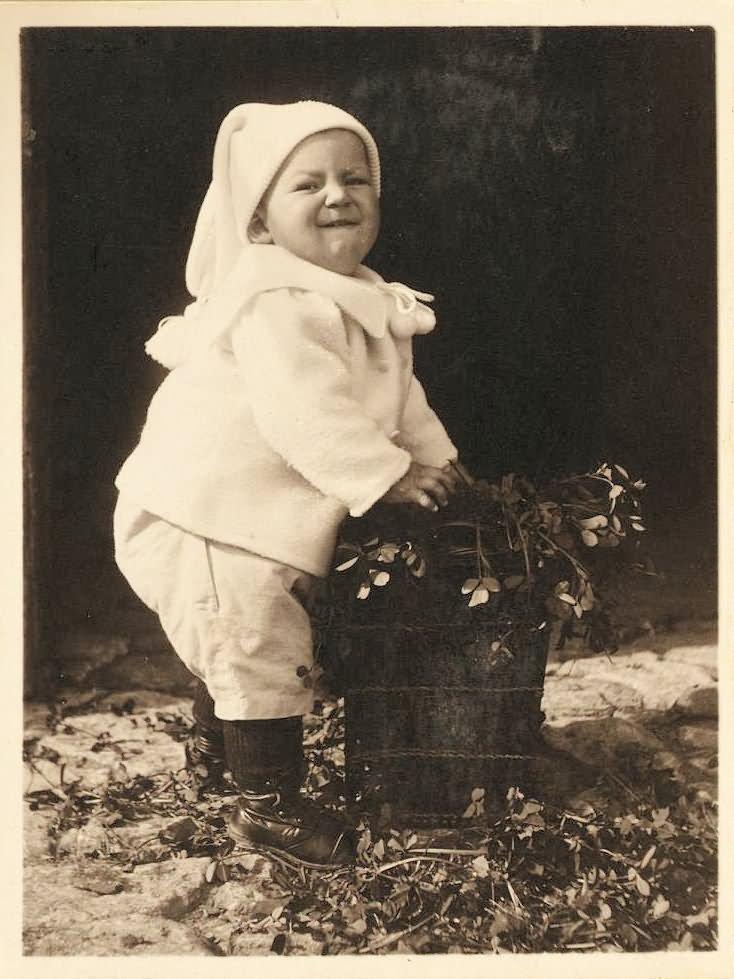 Santa Baby Funny Vintage Picture