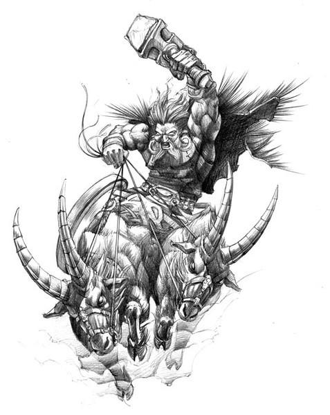 Bull Rider Tattoo Design