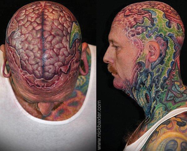 26+ Brain Tattoo Ideas Collection