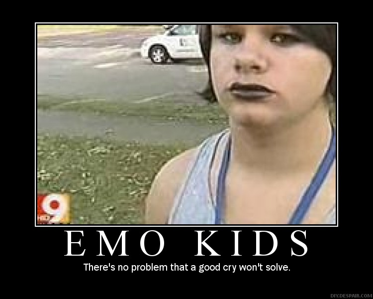 31 Most Funny Emo Pictures And Photos
