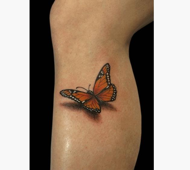 50+ Monarch Butterfly Tattoos