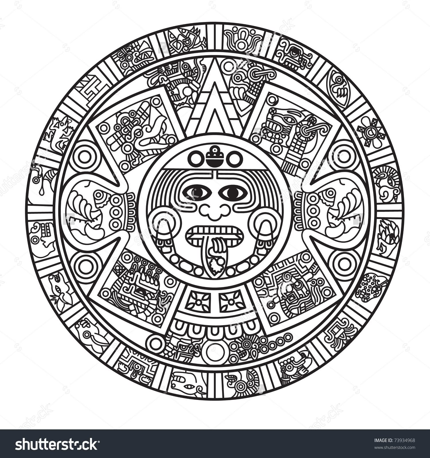 19 Unique Aztec Tattoo Designs And Ideas