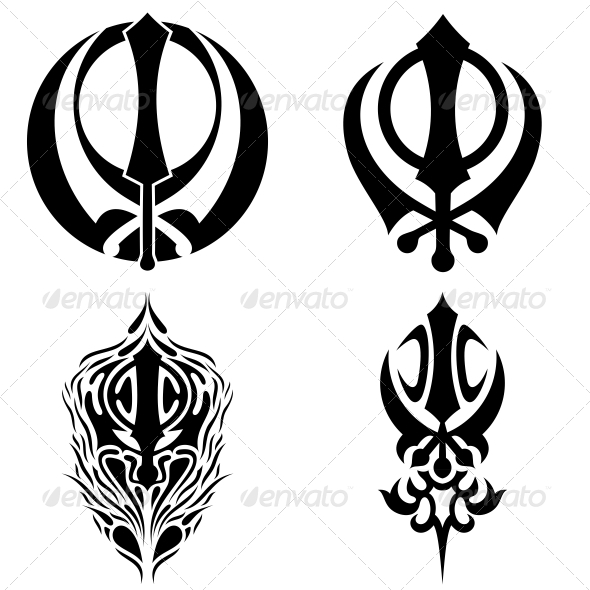 Tattoo Designs Khanda: 100+ [ Khanda Lion Tattoo Designs ]