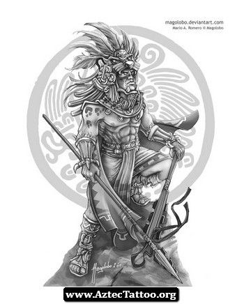 83238c538 19+ Unique Aztec Tattoo Designs And Ideas