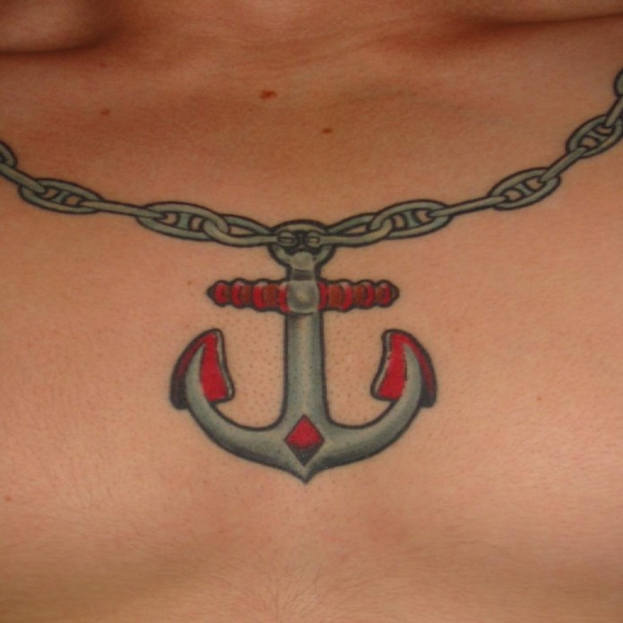 85 beautiful anchor tattoos and ideas. Black Bedroom Furniture Sets. Home Design Ideas