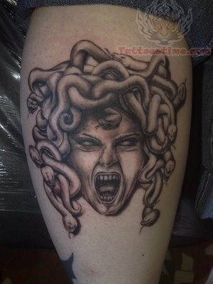 47 Awesome Medusa Face Tattoos