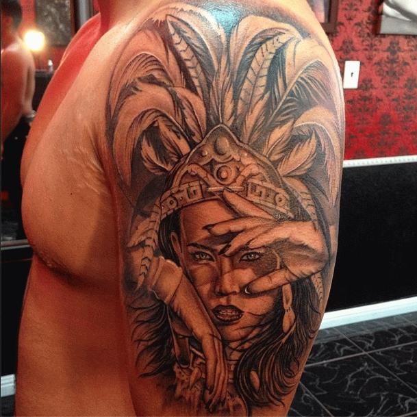 23 best Aztec Girl Tattoos images on Pinterest | Girl tattoos ...