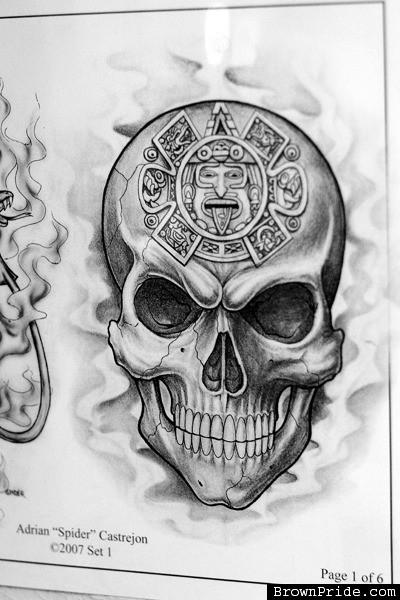 19 unique aztec tattoo designs and ideas. Black Bedroom Furniture Sets. Home Design Ideas