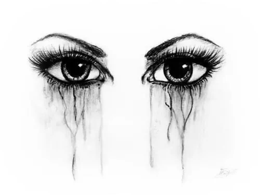 3+ Crying Eye Tattoos Designs