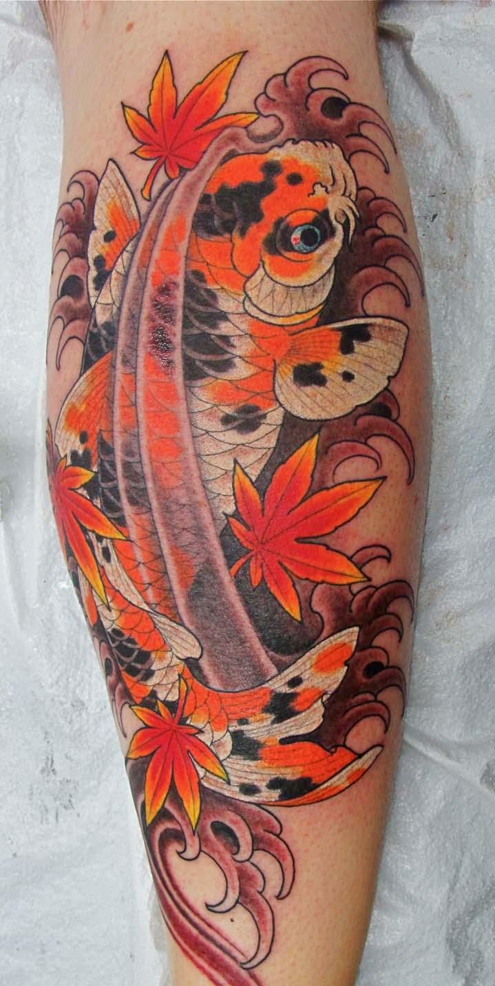 Koi Fish Tattoo Designs On Chest: 24+ Incredible Koi Tattoos Ideas