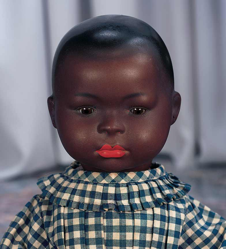 Funny Black Baby Doll Image