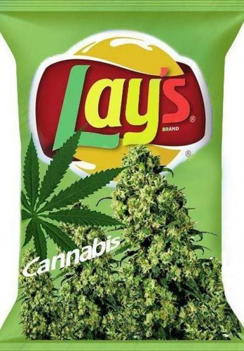 Funny Weed Lays Picture