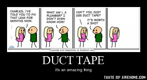 Image result for women & duct tape memes