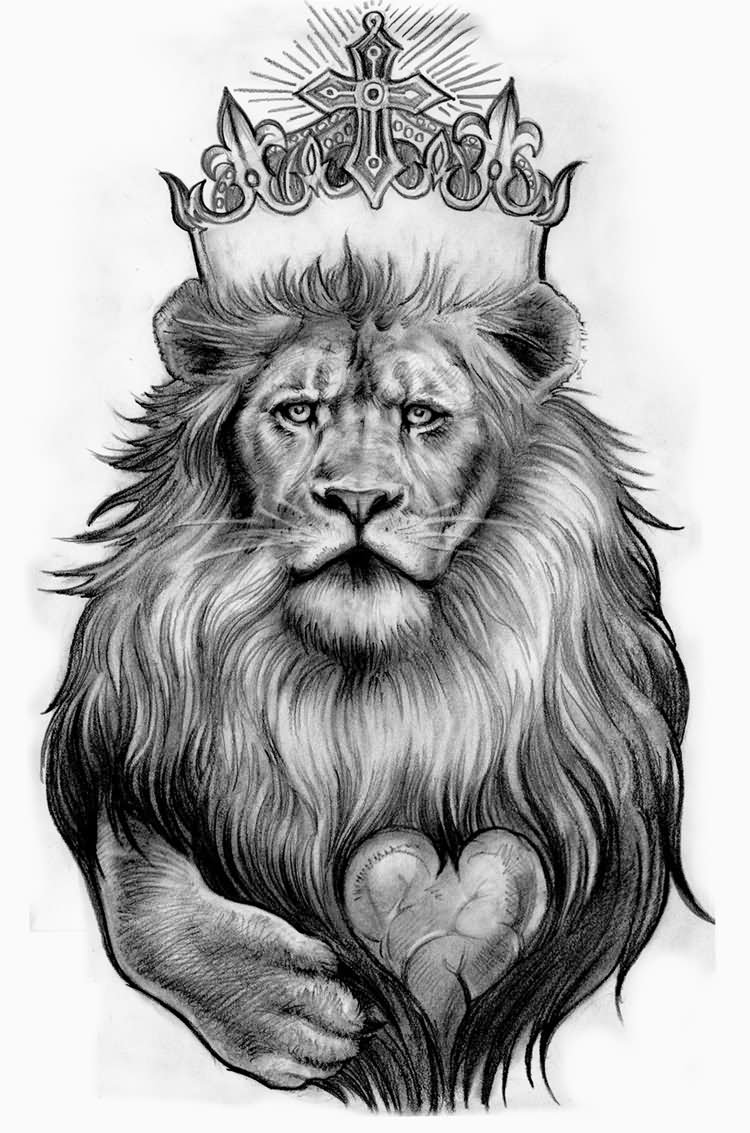 82 Famous Lion Tattoo Design Sketches