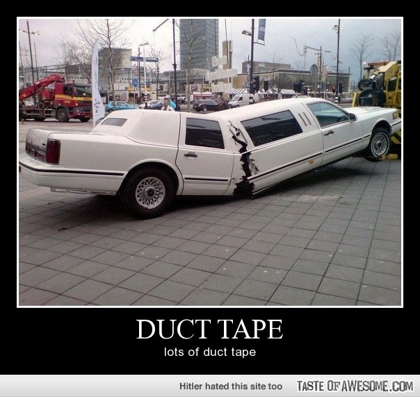 31 Very Funny Duct Tape Pictures And Photos