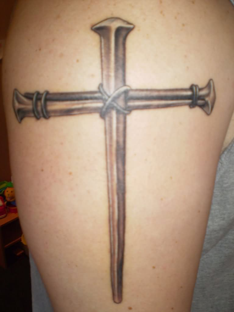 Sharp Cross Tattoo Design: 75 Famous Cross Tattoos