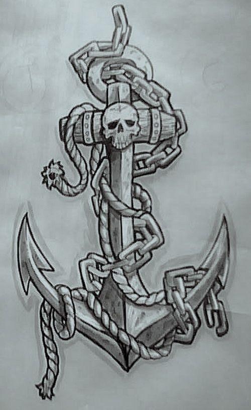 navy anchor tattoo design. Black Bedroom Furniture Sets. Home Design Ideas