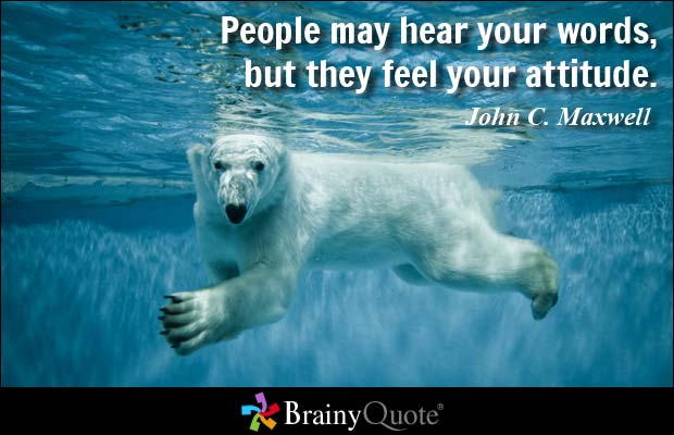 Words Are Nothing Actions Are Everything Don T Tell Me: 50 Best Attitude Quotes And Sayings