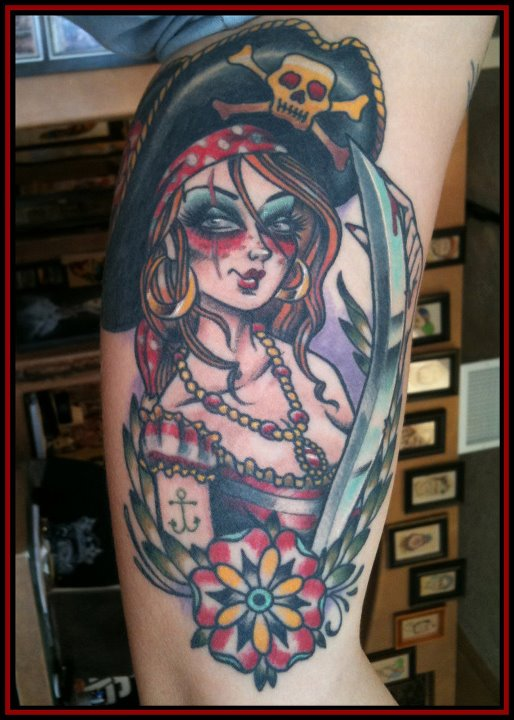 18 Meaningful Pin Up Tattoos