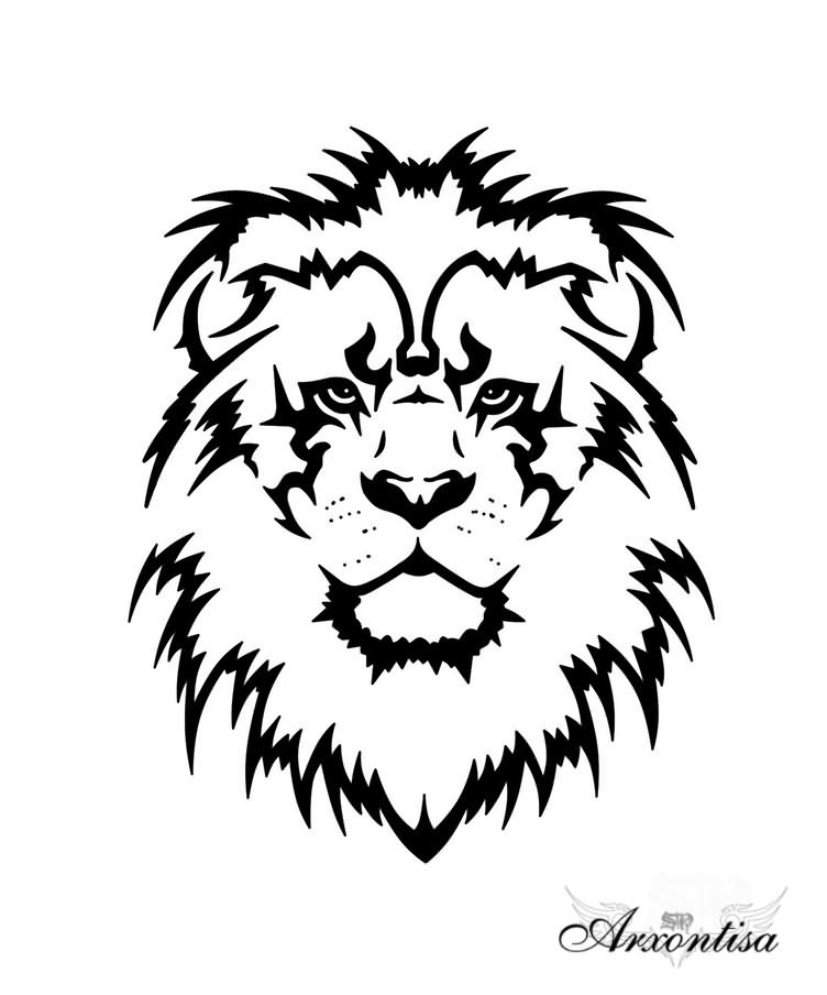 82 Famous Lion Tattoo Design Sketches Tribal lion tattoo lion head tattoos arrow tattoos feather tattoos tattoo motive tattoo outline arm tattoo elephant tattoos animal tattoos. 82 famous lion tattoo design sketches