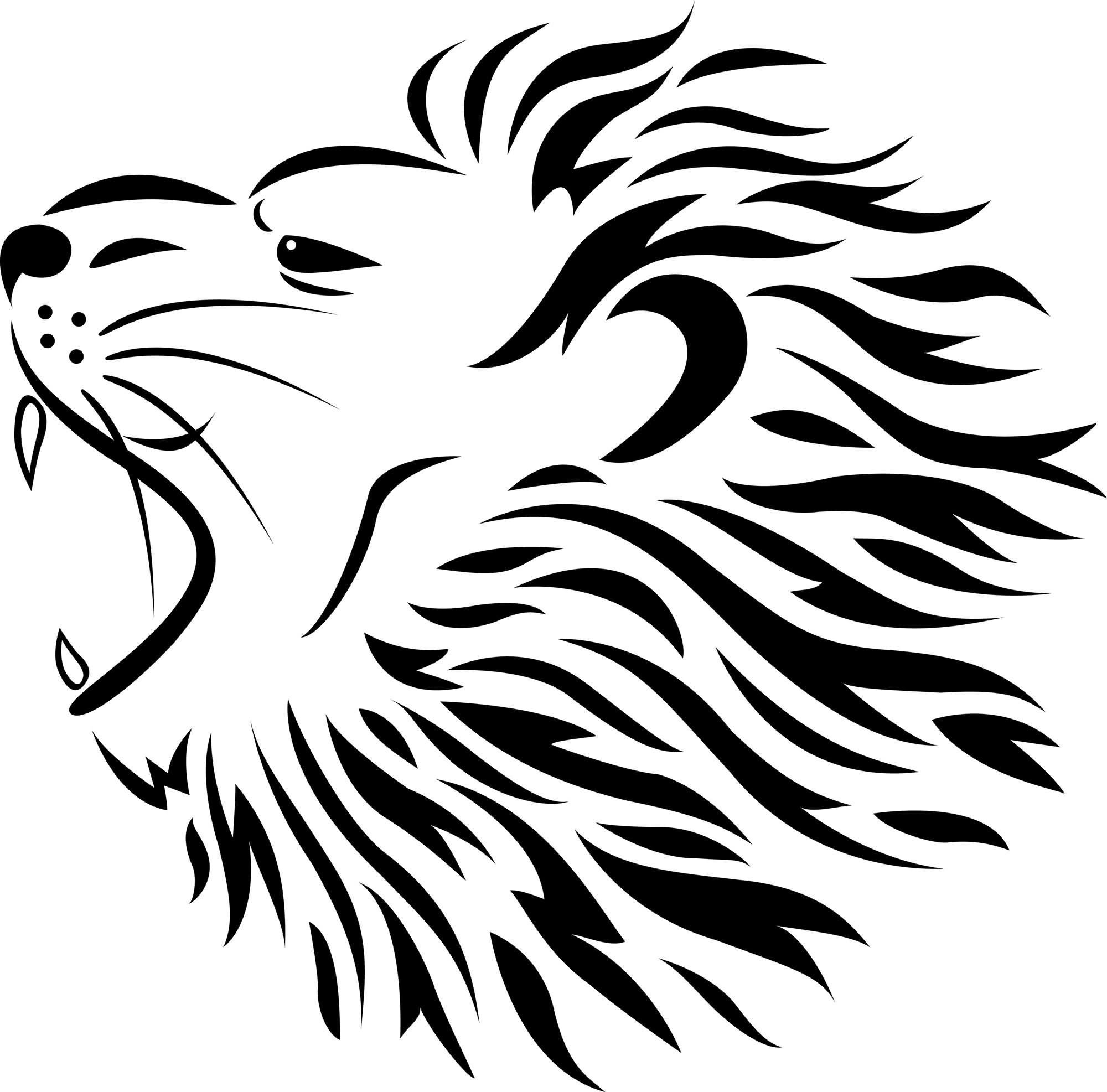 82 Famous Lion Tattoo Design & Sketches