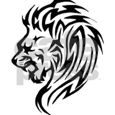 Tribal Lion Head Pictures to Pin on Pinterest - TattoosKid