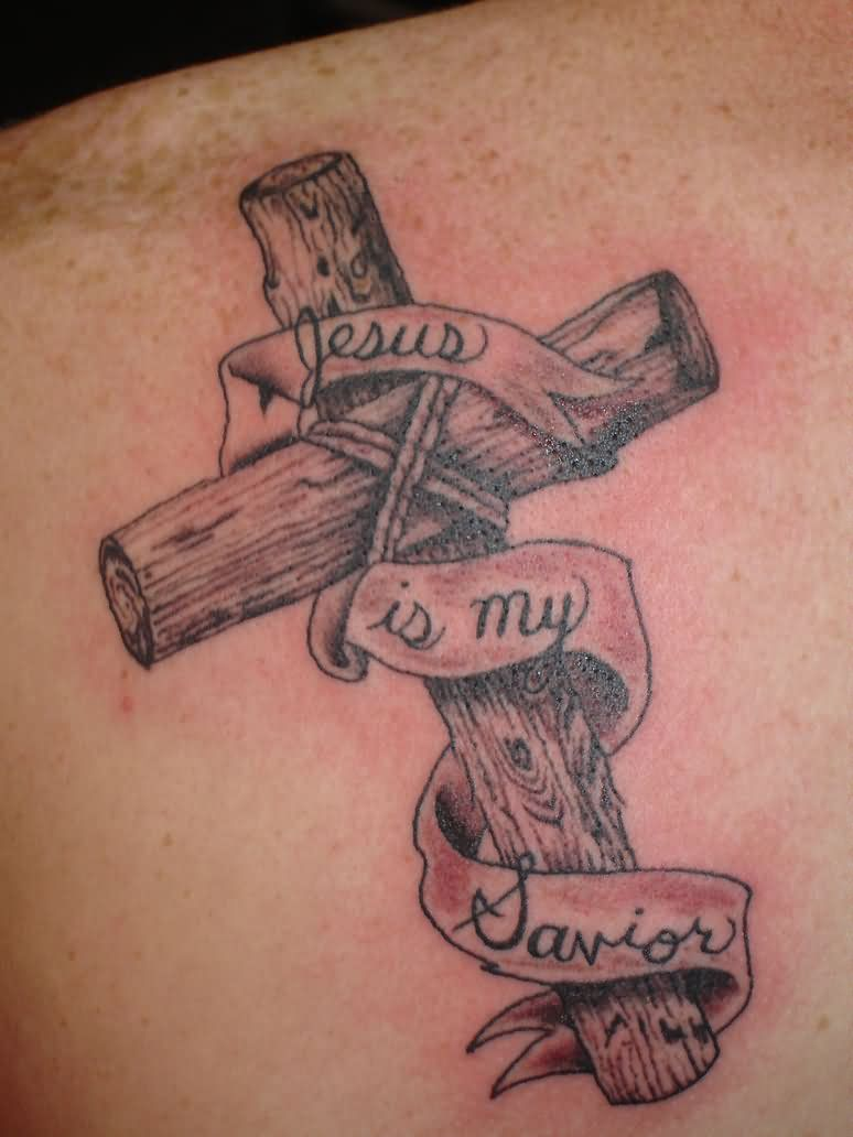 6 Jesus crucifixion cross tattoos