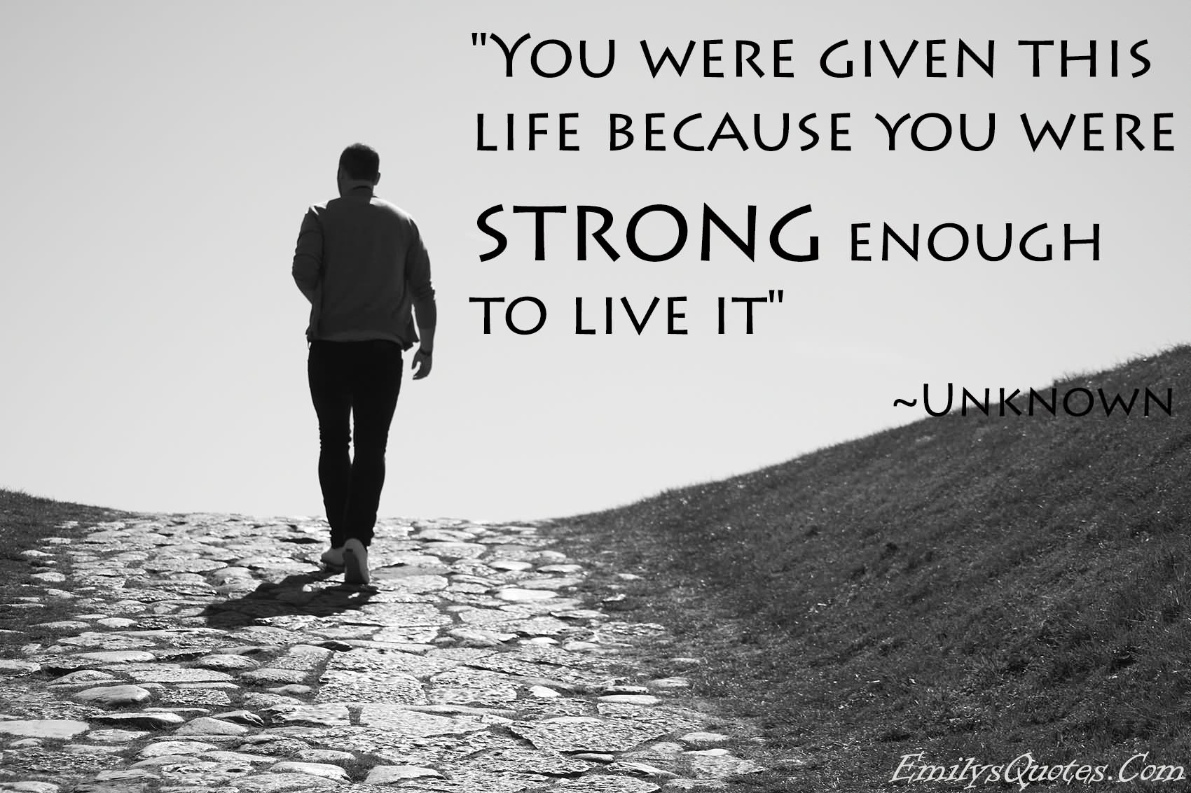 strong quotes about life images