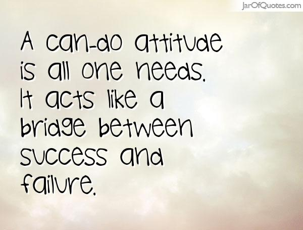 Image result for can do attitude