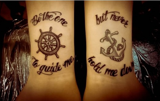 17+ Anchor Tattoos With Quotes