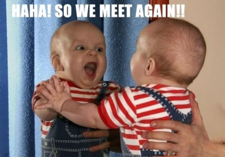 Funny Meme To Say Hello : Hello how are you funny mr. bean baby image