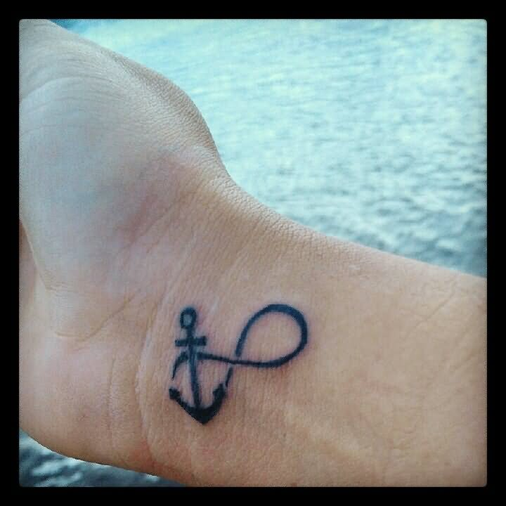 25+ Best Anchor Infinity Tattoos
