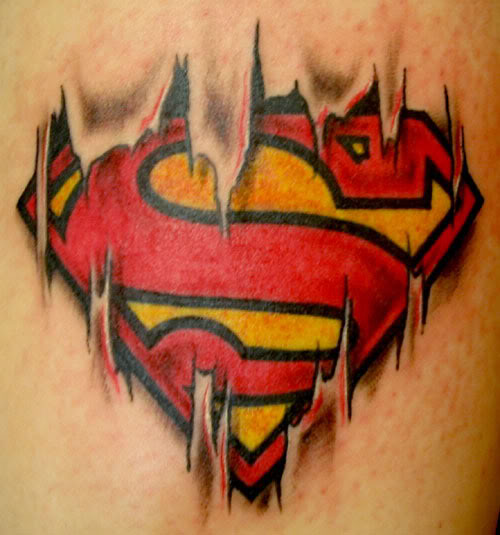 Superman Tattoo Designs For Girls 100+ Wonderful ...