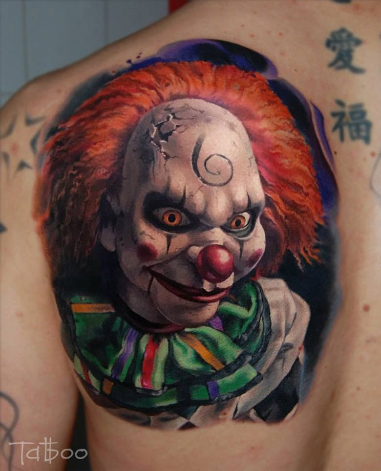 70+ Awesome Clown Tattoos