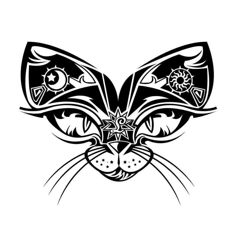 5 latest cat tattoo designs and ideas. Black Bedroom Furniture Sets. Home Design Ideas