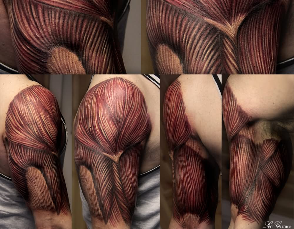 60 Unique Muscle Tattoos