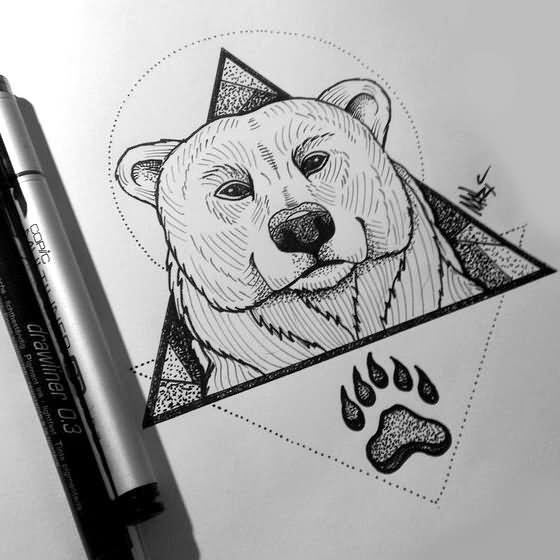 24 Latest Bear Tattoo Designs