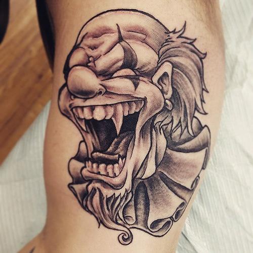 laughing man tattoo - photo #30