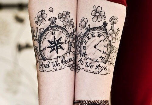 100 unique watch tattoos. Black Bedroom Furniture Sets. Home Design Ideas