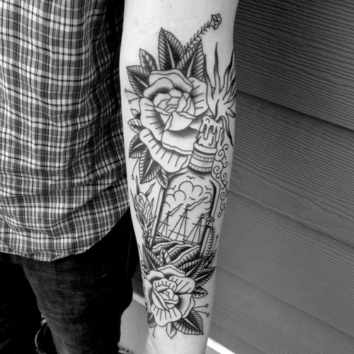 24 Black And White Tattoo Designs Ideas: 50+ Mind Blowing Black And White Tattoos