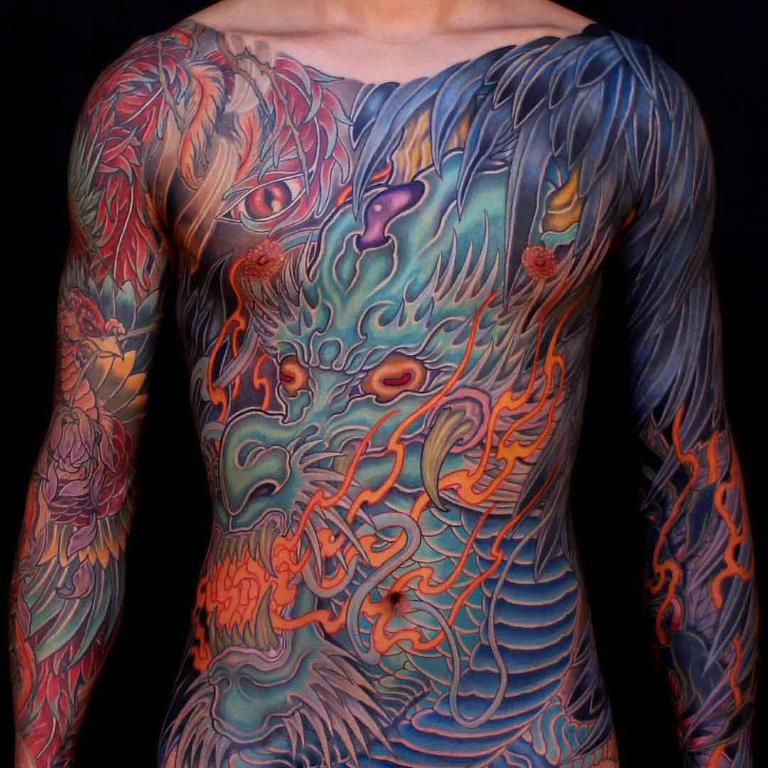 Dragon Tattoos: 70+ Full Body Dragon Tattoos