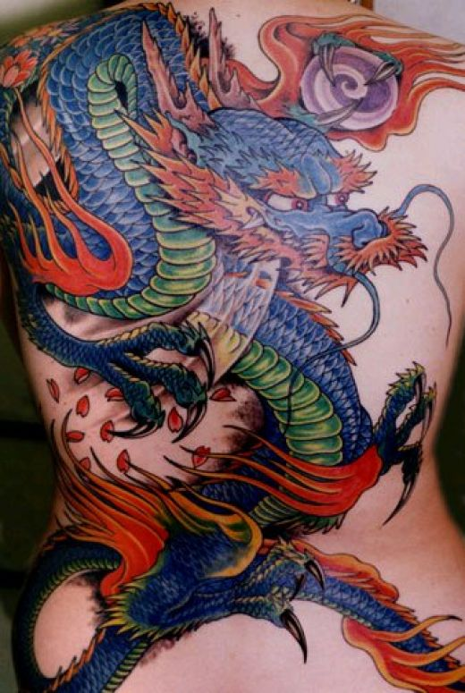 Imagespace Colorful Dragon Tattoo For Men Gmispacecom