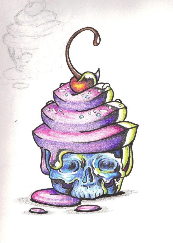 7 Cake Tattoo Designs And Ideas
