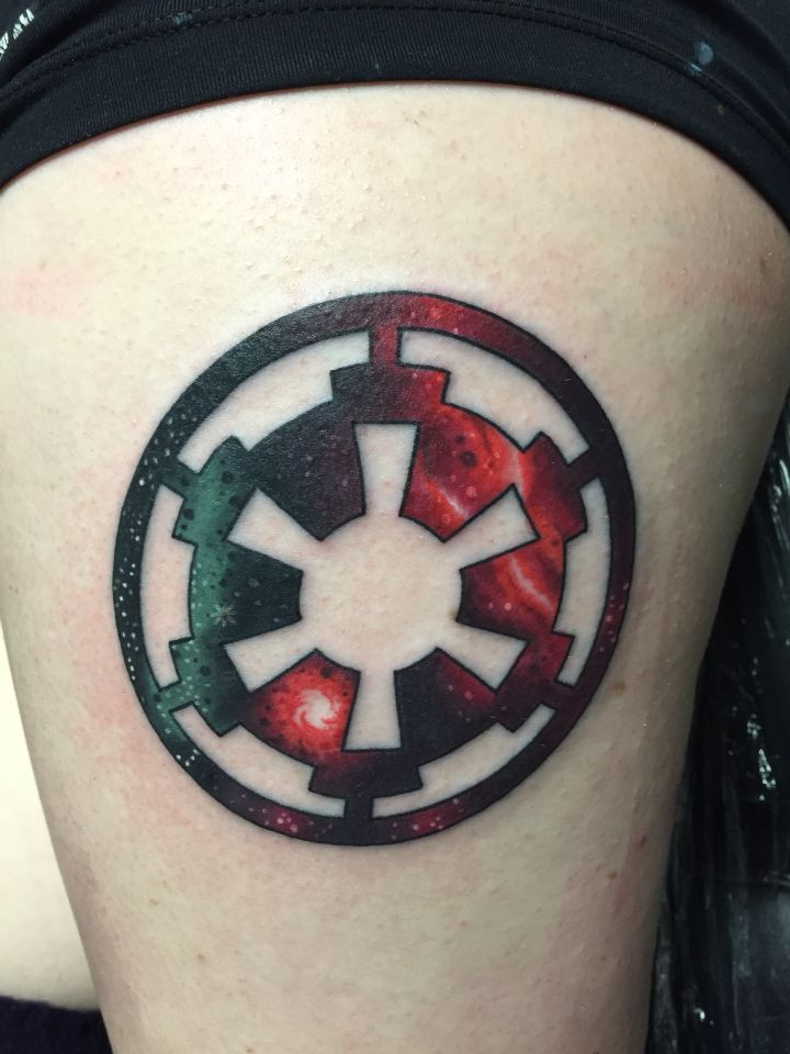 70 incredible star wars tattoos for Empire ink tattoo